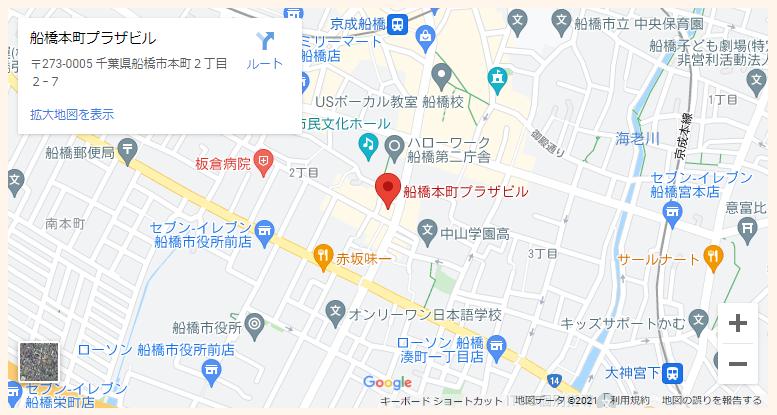 千葉相談室地図PC