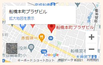 千葉相談室地図スマホ