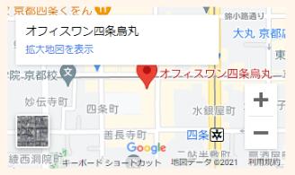 京都相談室地図スマホ